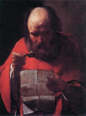 Saint Jerome Reading WGA