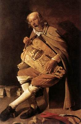 The Hurdy gurdy Player WGA