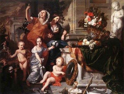LAIRESSE Gerard de Allegory Of The Five Senses