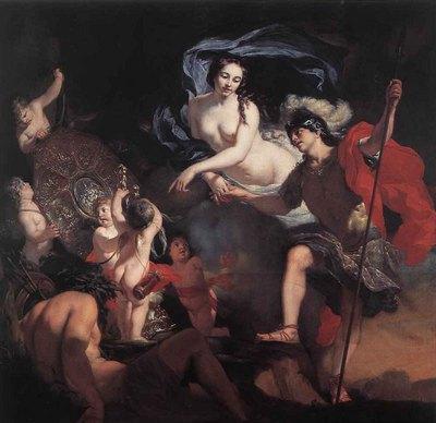 LAIRESSE Gerard de Venus Presenting Weapons To Aeneas