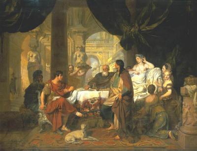 lairesse gerard 1680 cleopatra