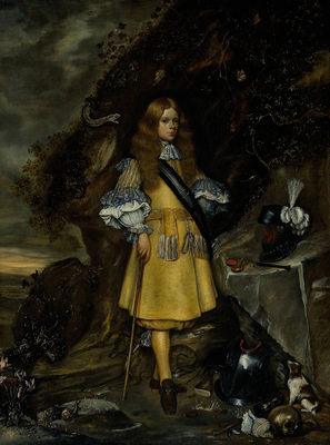 Borch Gerard ter II Memorial Portrait of Moses ter Borch