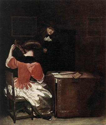 TERBORCH Gerard The Music Lesson