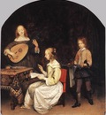 TERBORCH Gerard The Concert