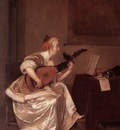terborch gerard the lute player