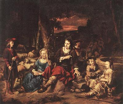 EECKHOUT Gerbrand van den Portrait Of A Family