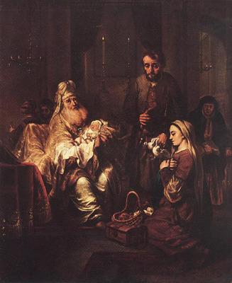 EECKHOUT Gerbrand van den Presentation In The Temple