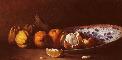 Ribot Germain Theodule Clement Nature Morte Aux Fruits
