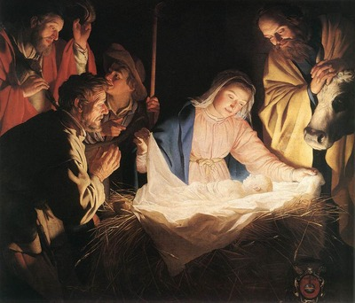 HONTHORST Gerrit van Adoration Of The Shepherds