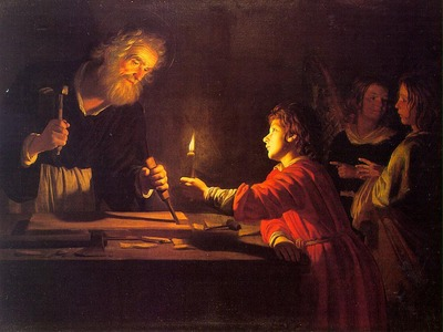 HONTHORST Gerrit van Childhood Of Christ