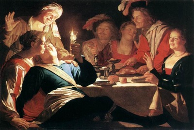 honthorst gerrit van the prodigal son