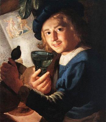 HONTHORST Gerrit van Young Drinker