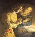 HONTHORST Gerrit van Adoration Of The Child
