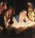 HONTHORST Gerrit van Adoration Of The Shepherds