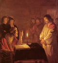 Honthorst Gerrit van Christ Before the High Priest