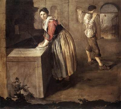 CERUTI Giacomo The Laundress