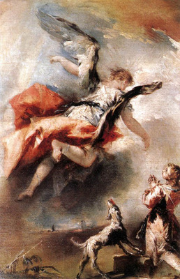 GUARDI Gianantonio The Angel Appears to Tobias