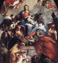 GUARDI Gianantonio Madonna and Child with Saints