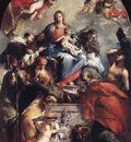 GUARDI Gianantonio Madonna and Child with Saints