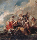 GUARDI Gianantonio The Healing of Tobiass Father