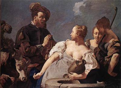 PIAZZETTA Giovanni Battista Rebecca At The Well