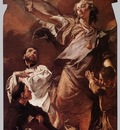 PIAZZETTA Giovanni Battista The Guardian Angel With Sts Anthony Of Padau And Gaetano Thiene