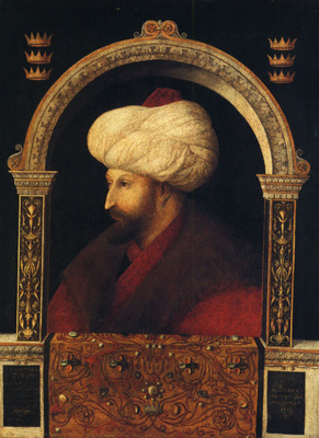 Bellini Giovanni Portrait of Mehmer II
