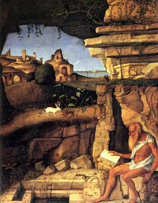 Bellini Giovanni Saint Jerome reading
