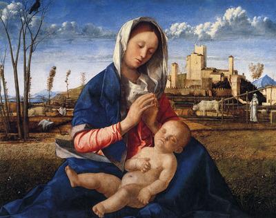Bellini Giovanni The virgin and child
