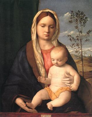 Madonna and child EUR