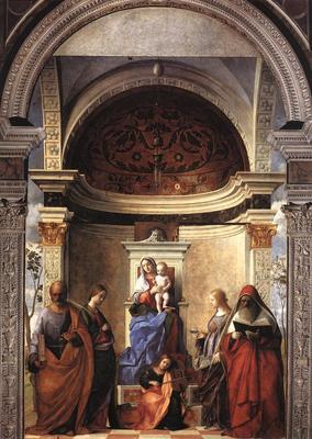 San Zaccaria altarpiece EUR