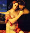 Bellini Giovanni Lady at her toilette