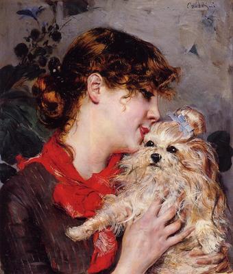 Boldini Giovanni Madame Rejane aka Gabrielle Rejane
