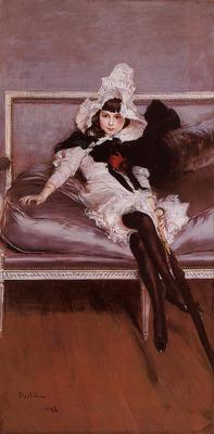 Boldini Giovanni Portrait of Giovinetta Errazuriz