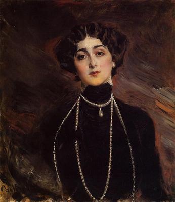 Boldini Giovanni Portrait of Lina Cavalieri