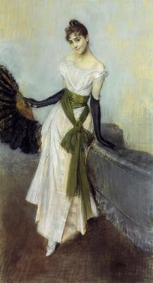 Boldini Giovanni Portrait of Signorina Concha de Ossa