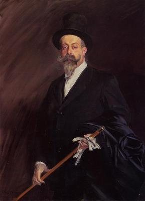 Boldini Giovanni Portrait of Willy The Writer Henri Gauthier Villars