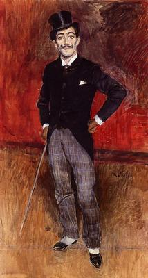 Boldini Giovanni Portrait of the Comte de Rasty