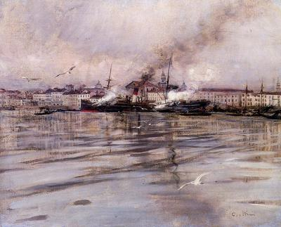 Boldini Giovanni View of Venice