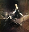 Boldini Giovanni Consuelo Duchess of Marlborough with Her Son Ivor Spencer Churchill
