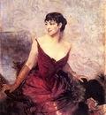 Boldini Giovanni Countess de Rasty Seated in an Armchair