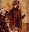 Boldini Giovanni In the Studio