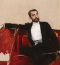 Boldini Giovanni L UOMO DALLO SPARTO A PORTRAIT OF JOHN SINGER SARGENT
