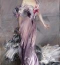 Boldini Giovanni Portrait of Mrs  Howard Johnston