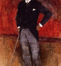 Boldini Giovanni Portrait of the Comte de Rasty
