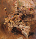 Boldini Giovanni The Art Connoisseur