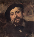 Boldini Portrait of the Artist Ernest Ange Duez