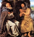 SAVOLDO Giovanni Girolamo St Anthony Abbot And St Paul