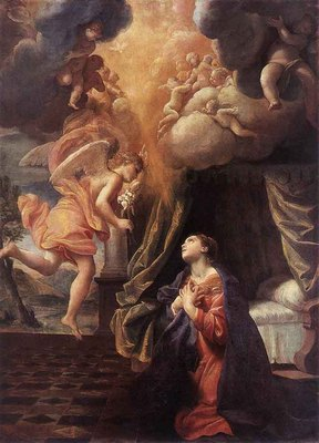 LANFRANCO Giovanni The Annunciation