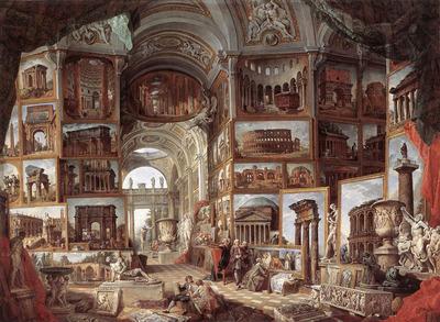 PANNINI Giovanni Paolo Roma Antica